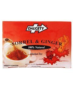 Dalgety Ginger and Sorrel Caribbean Herbal Tea, 18-Count