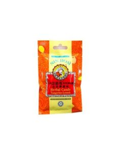 NIN JIOM HERBAL CANDY TANGERINE-LEMON 20G (PACK OF 6)