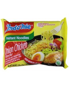 Indomie Indo Mie Mi Goreng Instant Noodle, Onion Chicken, (Pack Of 30)