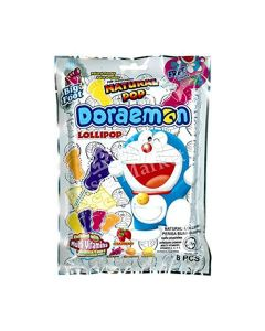 Doraemon Big Foot Natural Pop Lollipop 80g