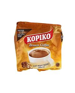 Kopiko Brown Coffee Just Right Blend Coffee Mix 10 Sachets (1 Pack)