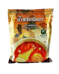 Thai Matsaman Curry Paste (1kg by Nittaya)