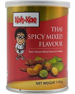 Koh Kae Thai Spicy Mixed Flavour Deluxe Mixed Nuts from Nature 110G