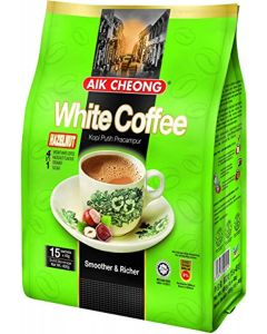 Aik Cheong White Coffee Hazelnut 40G x 15 Sachets (1 Package)