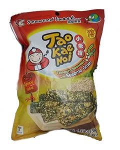 Tao Kae Noi Tempura Seaweed with Sesame Grain Spicy Flavour (Pack of 6)