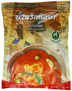 Nittaya Thai Red Curry Paste 1 Kg