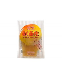 JJ Taiwan Rolled Squid 50G (Pack of 10)