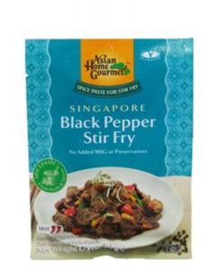 Asian Home Gourmet - Singapore Black Pepper Stir Fry