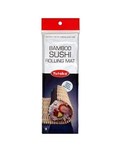 Bamboo Rolling Mat - for making japanese sushi rolls (Pack of 2)