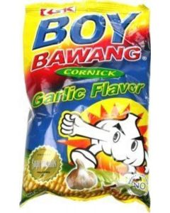 3-packs Boy Bawang, Cornick, Garlic Flavor 100g Ea by KSK FOod Products [Foods]