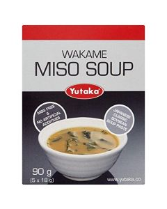 Yutaka Japanese Miso Soup (5 per pack - 90g) - Pack of 2
