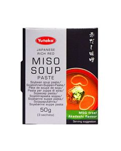 Yutaka Akadashi Miso Soup (3 x 50g - 9 single packs)