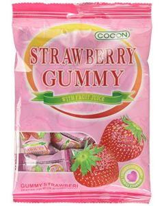 Cocon Gummy Strawberry Jelly Sweets 100 g