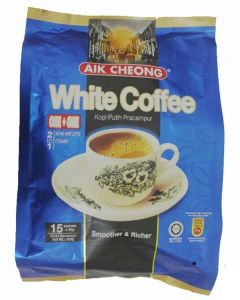 Aik Cheong 2in1 Instant White Coffee Creamer (No Sugar) 30g x 15 sachets (450G)