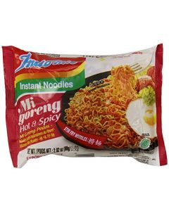 Indo Mie Mi Goreng Instant Noodle, Hot and Spicy, 2.82 Ounce (Pack of 30) by Indomie