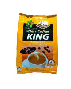 Chek Hup 3 in 1 Ipoh White Coffee King (Rich & Strong) 600g (15 bags x 40g)