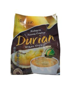 Coppo Malaysia Penang Original 4in1 Durian White Coffee (38g x 12 sticks) 456g