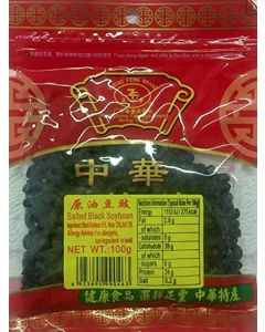 ZHENG FENG Salted Black Soybean 100 g