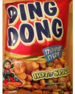 Ding Dong Mixed Nuts Hot & Spicy 100g x5 packs