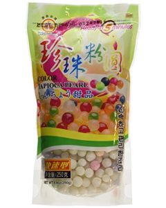 Wufuyuan Colour Tapioca Pearl 250g for Bubble Tea Drink Boba Milk tea