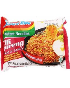 Indomie FRIED NOODLE Goreng, 100% HALAL, 85g, Pack 30 by Indomie