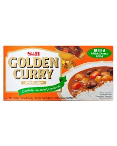 Pack of 2 S&B Golden Japanese Curry Mild - 220G