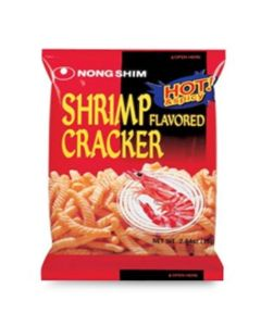 Nong Shim Shrimp Flavoured Crackers, 75 g