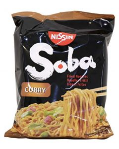Nissin Soba Fried Instant Noodles - Curry - 9 Packets