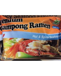 GGM Korean Premium Hot & Spicy Champong Ramen 130G (1 Pack)