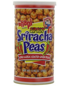Hapi Spicy Sriracha Peas, Chili Garlic Coated Green Peas 280g