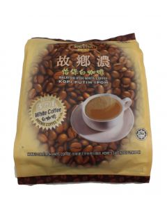 Home's Cafe Premix White Coffee (3 in 1) Malaysia Ipoh White Coffee 15 stick packs (600g)