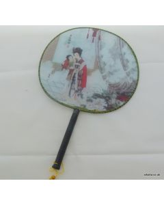 Traditional Chinese Culture Painting Hand Fan - Drunken Beauty
