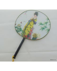 Traditional Chinese Culture Painting Hand Fan - National Beauty