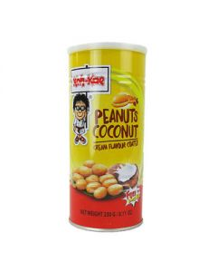 Coconut Cream Flavored Peanuts By Koh Kae (255g. In Can) by Koh-Kae