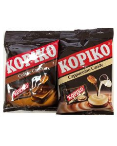 Kopiko Cappuccino & Coffee Candy 150G (50 Pellets x 2 Packs) BIGGER PACK!