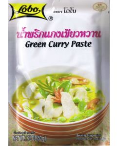 Lobo Thai Green Curry Paste 50g