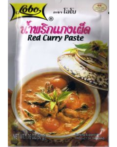 Lobo Thai Red Curry Paste 50g