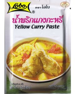Lobo Thai Yellow Curry Paste 50g