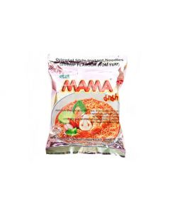 Mama Instant Noodle Soup Shrimp (Tom Yum) Flavour 60g Pack of 5 packs