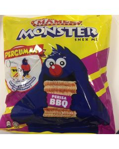 Mamee Monster Noodle Snack - BBQ Favour (25G x 8 packs)