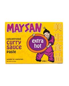 Maysan Curry Paste Concentrate Extra Hot - 448g (Pack of 2 packs)
