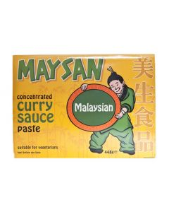 Maysan Curry Paste Concentrate Malaysian - 448g (Pack of 2 packs)
