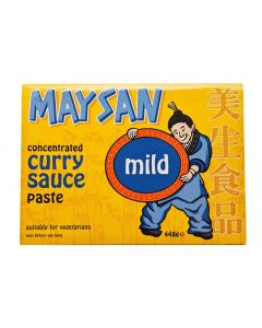 Maysan Curry Paste Concentrate Mild - 448g (Pack of 2 packs)