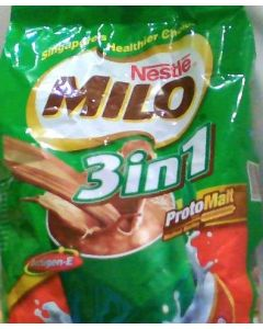 Nestle Milo 3 in 1 Chocolate Malt Drink (18 Sachets) Made in Singapore
