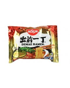 Nissin Instant Noodle Spicy Japanese Noodle Soup 100g (Pack of 5 packs)