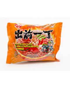 Nissin Instant Noodle Spicy Seafood Flavour 100g (Pack of 10 packs)