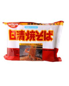 Nissin Instant Noodle Yakisoba 100g (Pack of 10 packs)