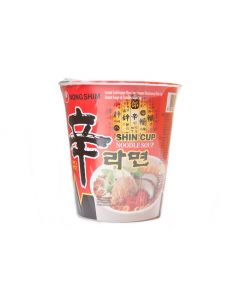 Nong Shim Cup Hot & Spicy Instant Noodle - 68g (Pack of 2 packs)