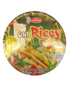 Oh! Ricey Vietnamese Noodle Soup Pho Chicken Bowl 70g (Pack of 5 packs)