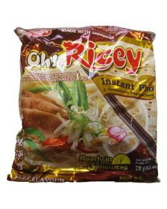Oh! Ricey Vietnamese Rice Noodles Pho Bo Beef Flavour 70g x 4 packs